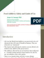 Food Additives Presentation Imungi