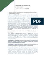 1 LISTA BANCO DE DADOS - UFPI