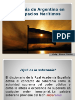 Soberania de Argentina