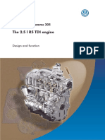 305 5cyl PD Engine