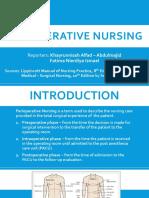 Perioperative Nursing - Abdulmajid