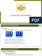 ITC Master Chef Prawns - For Accounts