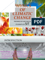 Physics of Climatic Change