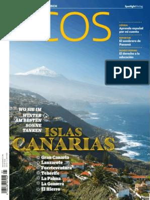 Ecos 1 Enero 2018pdf Idioma Español Islas Canarias