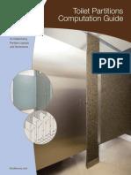 Toilet Partitions Computation Guide