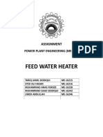 Feedwater heaters