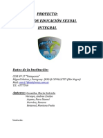 TALLER DE EDUCACIÓN SEXUAL INTEGRAL Proyecto.doc