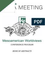 Bratislava Maya Meeting 2019 - Mesoamerican Worldviews