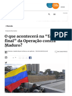 Confrontos Se Intensificam Na Venezuela.