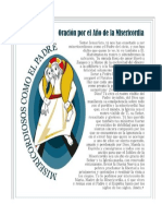 oracion de la misericordia