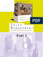 Sales Management,6E - Charles M. Futrell