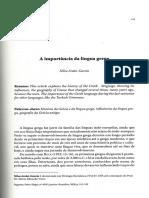 A importância da língua grega.pdf