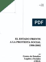 El Estado Frente a La Protesta Social
