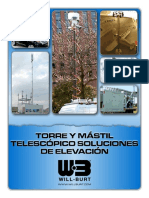 Spanish Telescopic Mast and Tower Elevation Solutions Low Resolution
