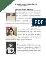 Enfermeras Mas Relevantes en La Historia de America Del Sur