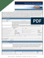 Student Job Profile