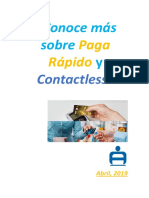 Curso Virtual - Conoce Más Sobre Paga Rápido y Contactless - Abril 2019