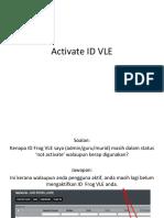 Cara Mengaktifkan Yes ID