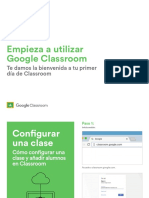 Empieza a Utilizar Google Classroom (Public)