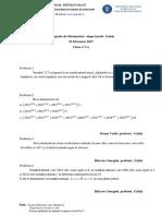 Subiecte olimpiada 5-8 matematica