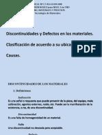 Defectología, Clasificación, Causas