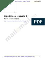 Algoritmos Lenguaje c