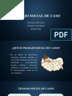 trabajo social de caso
