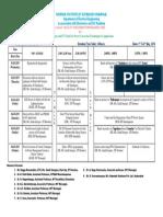EICT PCTA NIT LectureSchedule