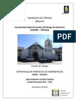 Plan Municipal de Gestion Del Riesgo de Desastres