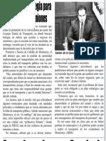 30-04-19 Urge Adrián estrategia para problema de camiones