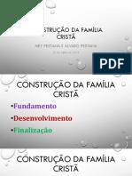 Construcao Da Familia Crista - 2019