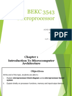 FChapter 1 - Microcomputer Architecture