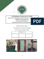 Informe III Ensayo De Materiales