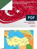 Impactul Dezvoltarii Infrastructurii Turistice de Pe Litoralul Turciei