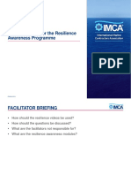 IMCA-Publication-432 (Facilitator Pack for the IMCA Resilience Awareness Programme)
