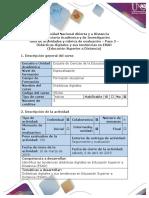 trabajo 2 actividades especialización