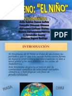 Evento El Niño Grupo 6