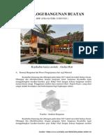 Uts Teknologi Bangunan Buatan ( Arif Atha Katsir )
