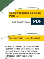 Comportamento do cliente Introdução