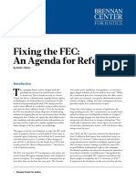 Fixing the FEC
