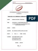 Actividad Nº 14 La Responsabilidad Del Registrador en La Calificacion de Titulos.