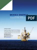 Modex Energy Company Porfolio_2019