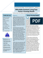 Affordable Assisted Living Tops Senior Housing Needs!