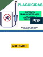 Toxicologia - Intoxicacion Por Organofosforados-2018 2