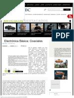 Electrónica Básica_ Coaxiales