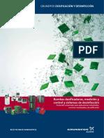 Dosing M-C Sistemas Desinfección Folleto 0909