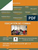 Educación No Formal Exposición