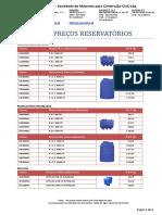 Tabela Reservatorios 20-11-2017