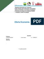 Oferta Economía