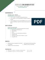 steffs resume
